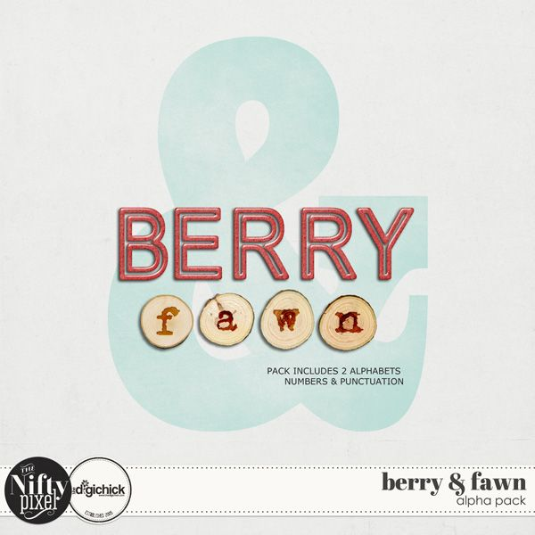 BERRY & FAWN | Alpha Pack Now who doesnt like a nice Alpha pack with 2 fancy alphas included? This pack has a gorgeous Berry coloured gel alpha that is slightly textured and the other is an embossed wood slice both very festive in design but would work perfectly in other themes also.  DOWNLOAD INCLUDES:  1X Berry coloured gel Alpha { A-Z both upper and lowercase} + {Numbers and Punctuation} 1X Wood Slice Embossed Alpha {a-z lowercase letters only} + {Numbers and Punctuation} 2X Alpha Sheets