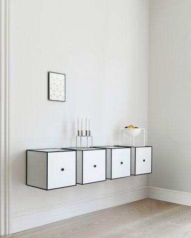 """Hängeschränke für Küche, Bad und Wohnzimmer: """"Frame"""" von By Lassen"""
