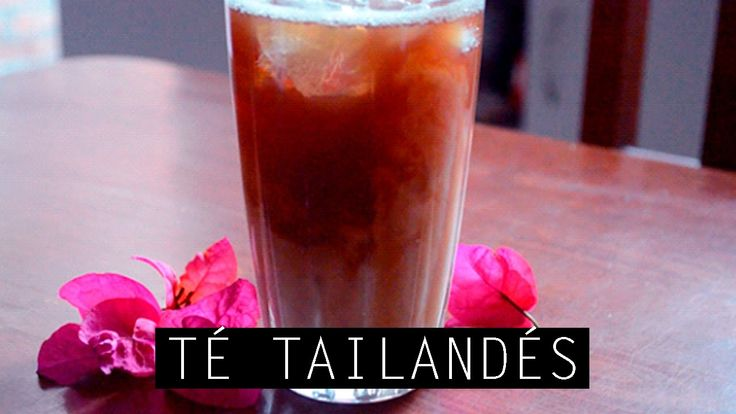 TÉ TAILANDÉS | RECETA RÁPIDA // THAI TEA | QUICK RECIPE