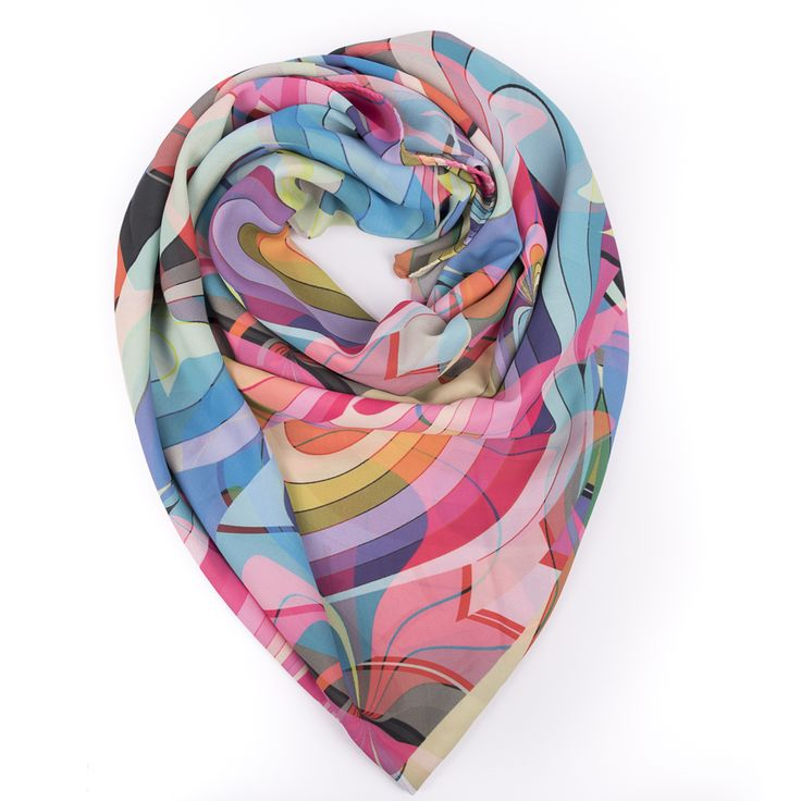 Neon Tints Scarf