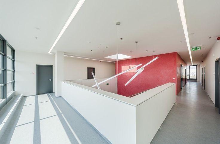 Výrobní areál - společné prostory v 2. podlaží