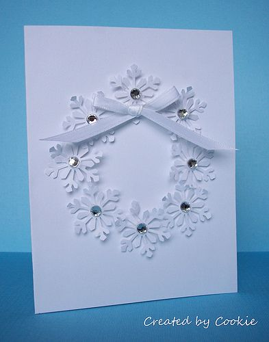 Snowflake Wreath - bjl