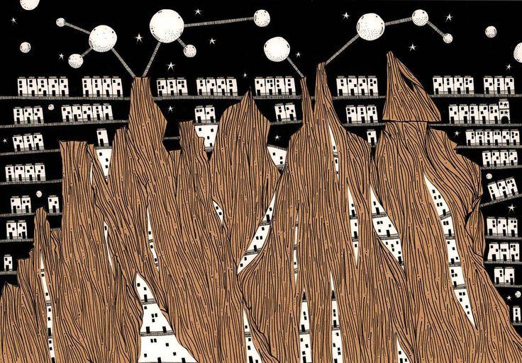 Gallery of Italo Calvino's 'Invisible Cities', Illustrated - 4