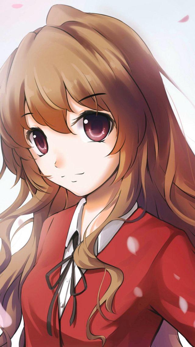 Wallpaper Iphone New Toradora Taiga Aisaka Girl Anime Art Iphone 5s