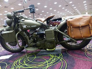 OldMotoDude: 1942 Harley-Davidson WLA sold for $24,150 at the 2...