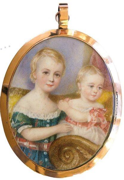 Antique Portrait Miniatures Images