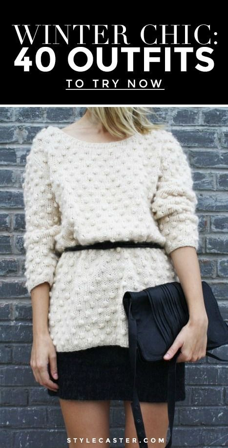 Best Outfit Ideas For Fall And Winter  Winter Chic: 40 Stellar Street Style Outfits to Copy Right Now
