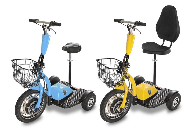 Personal electric vehicles - 3 wheel electric scooters for ...
