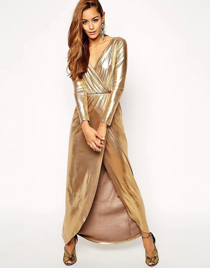 gold-wrap-maxi-dress