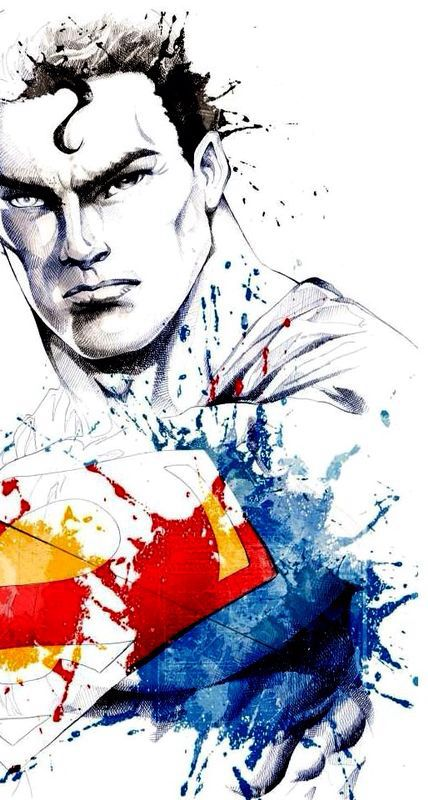 Awesome Superman art
