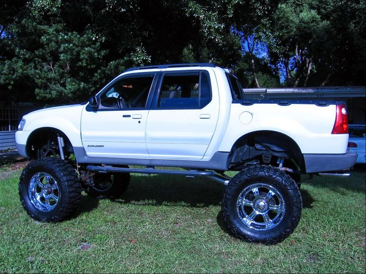 lifted sport trac 2001 Ford Explorer Sport Trac Lifted