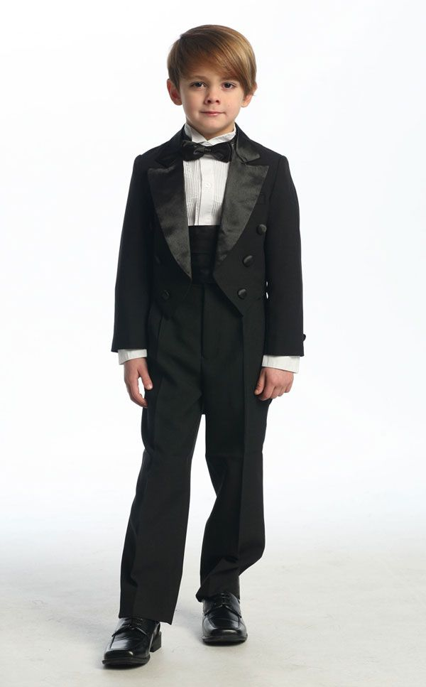 Boy's Tuxedo with Tail - First Communion Suits