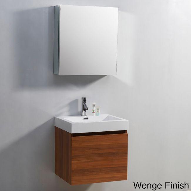 Virtu USA Zuri 24-inch Single-sink Bathroom Vanity Set