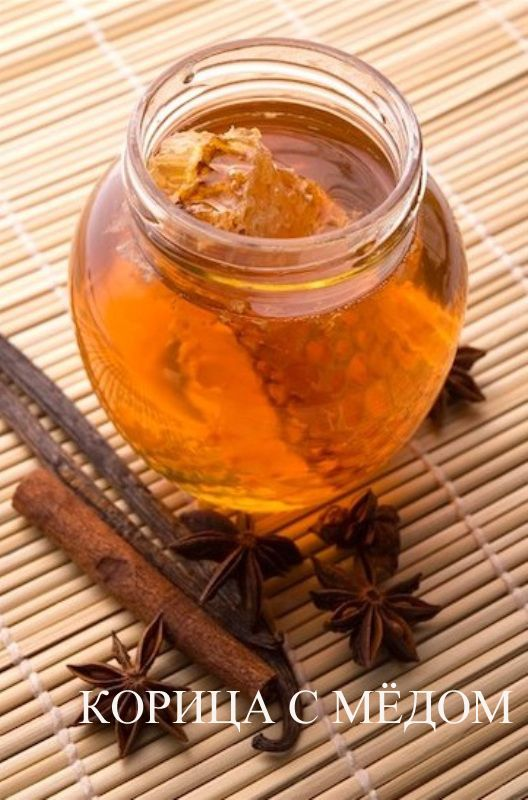 Корица с медом. Рецепт, польза, похудение, отзыв.