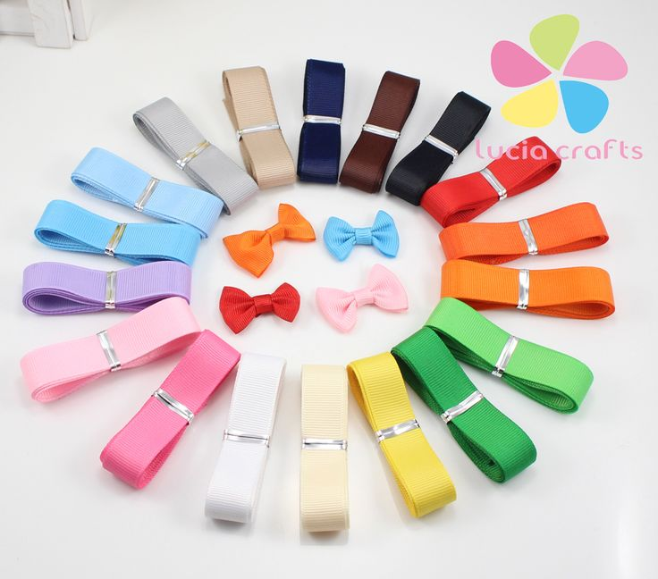 """Aliexpress.com : Buy 3/8"""" 5yards width Multi colors option Grossgrain ribbon for packing 040041(4) from Reliable ribbon satin suppliers on Lucia Craft store"""