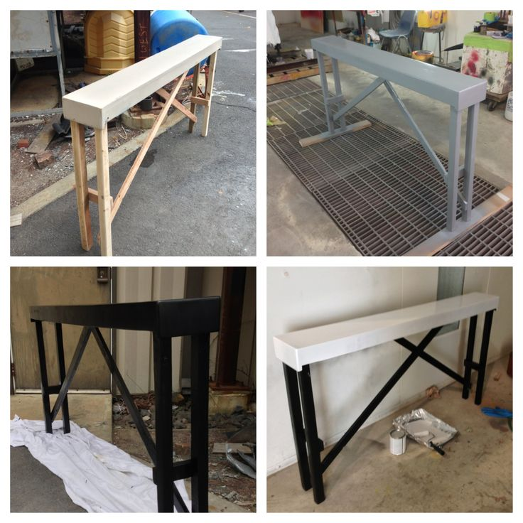 DIY Sofa table For the upstairs hallway DIY Projects