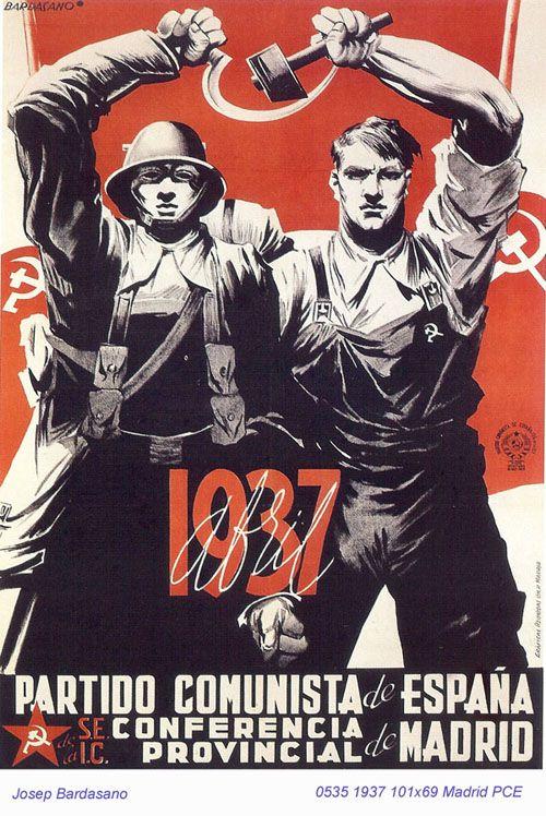 Spain - 1937. - GC - poster - autor: Josep Bardasano