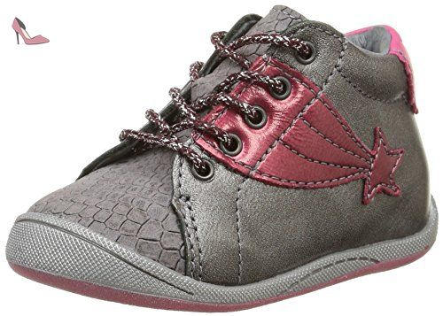 Babybotte Atoukeur, Baskets mode fille - Rose (2-349), 30 EU (12 UK) (13 US)