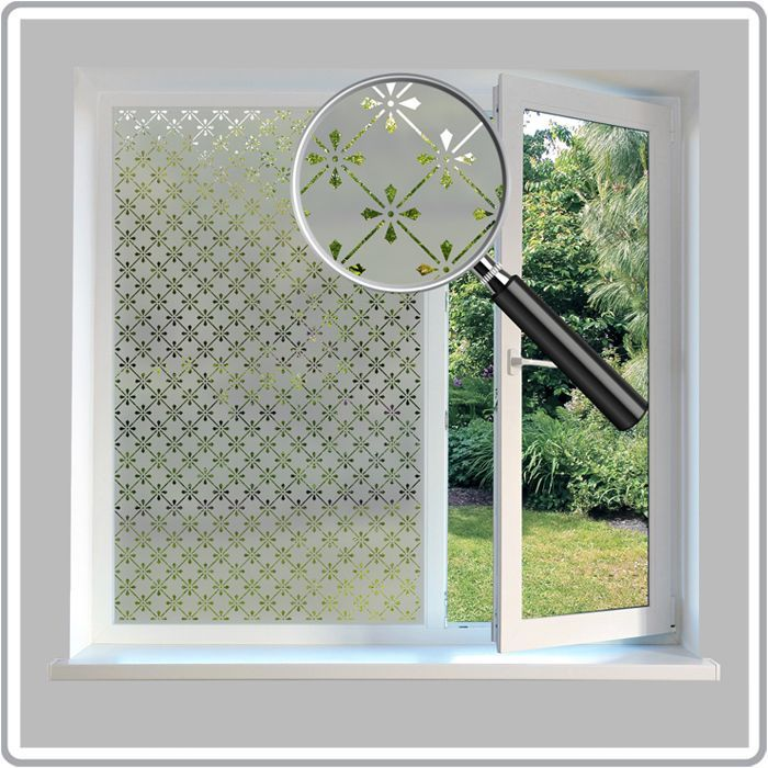 A cost effective, Victorian Etched Glass Window Film that's up to 30% cheaper than our standard patterned window films.