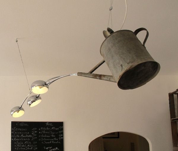Upcycled Lamps And Lighting Ideas: 252 Best Images About Upcycled Lighting Obsession On