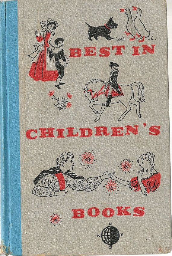 VINTAGE KIDS BOOK Best in Children's Books Vol 18 Marjorie Flack Robert Louis Stevenson, Ruth Ives