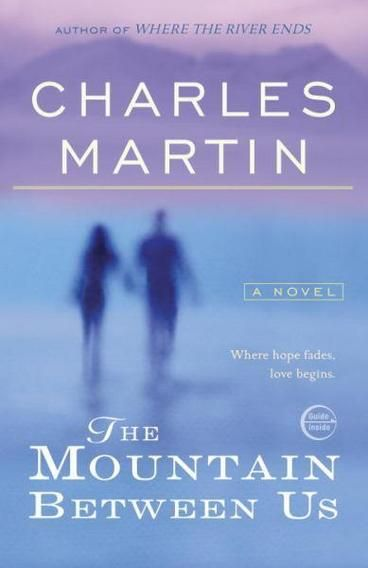The Mountain Between Us by Charles Martin. On a stormy winter night, flights from Salt Lake City have been cancelled. With a doctor and a writer both desperate to reach their destination, a charter plane is hired to fly for them - within the journey however, a terrible incident occurs causing the plane to crash. Now, stranded within the mountainous wilderness of High Uintas they are forced to rely on each other for survival as the harsh weather conditions begin to rise.