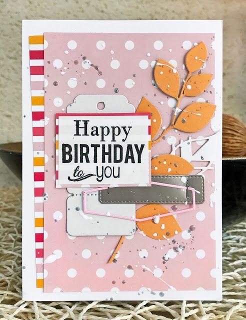 Scrap Plaisir : le scrap de shannon91: Carterie combo sur Made in Scrap : carte d'anniversaire