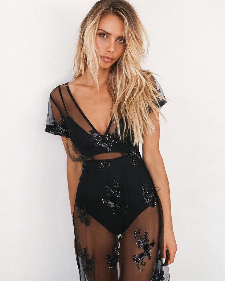 Here in black! / The #TigerMist 'Heated' dress ✨ @tigermistloves