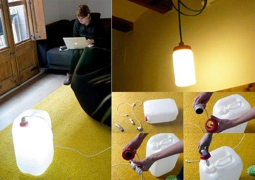 Instructions here: http://r3project-english.blogspot.com/2009/01/bidon-lamp.html
