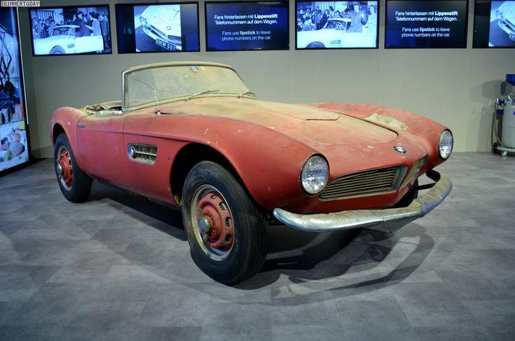 The BMW 507 from Elvis Presley - http://www.bmwblog.com/2014/07/24/bmw-507-elvis-presley/