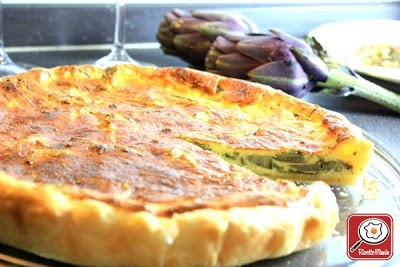 Quiche with Artichokes
