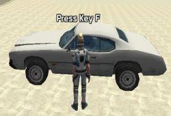 Roba vehículos al estilo Grand Theft Auto con este divertido juego en 3D desarrollado en un mundo abierto. Te encontrarás en la calle y tu misión será robar tantos vehículos como puedas. Pulsa la tecla F para subir o bajar de los vehículos y con las flechas de dirección podrás pilotar los vehículos robados.