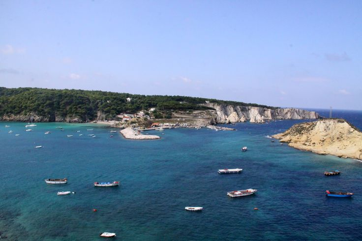 Isola di San Nicola: panorama verso l'Isola di San Domino
