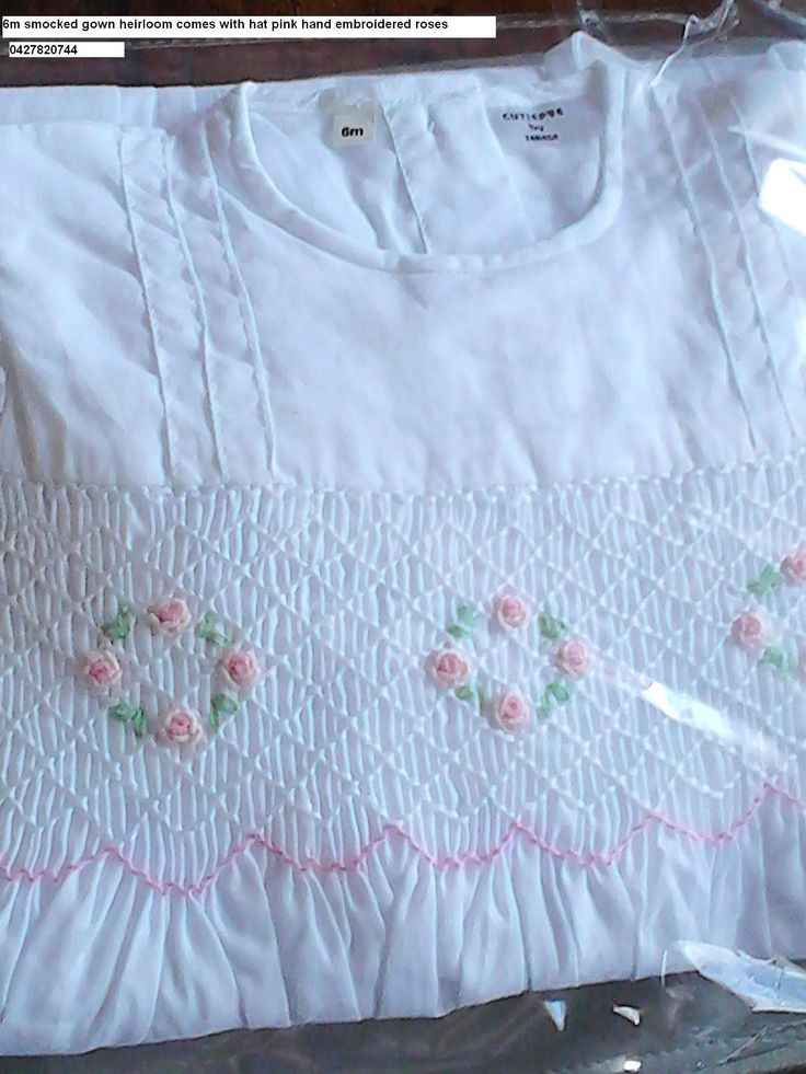couture smocked gowns by cutiepye 0427820744