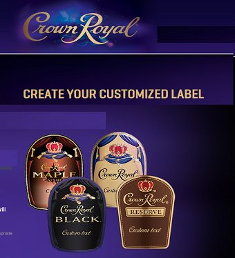 Crown Royal: FREE Personalized Labels – Father's Day FREEBIE!