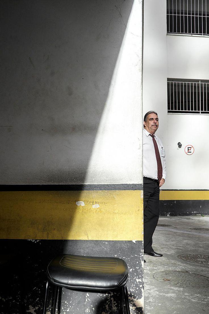 Marcos Valéria, Security for 20years. Rio de Janeiro, Brazil. May 2014...©Dom Smaz