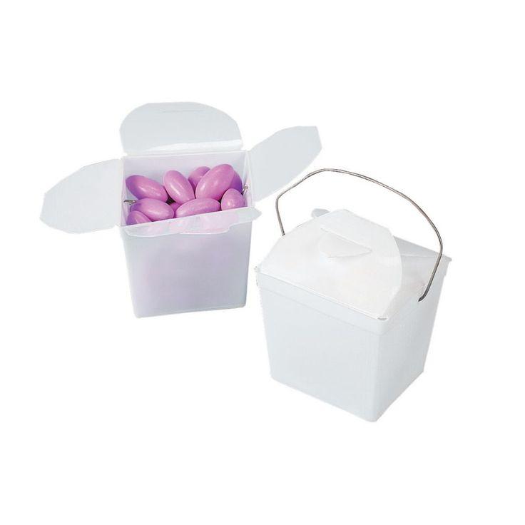 White Take Out Boxes