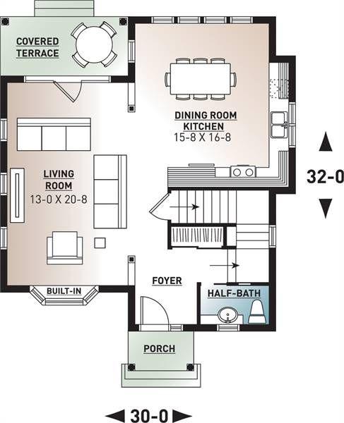 Cottage Style House Plan 9558 Hazel House Plans Cottage Style House Plans Cottage Style Homes