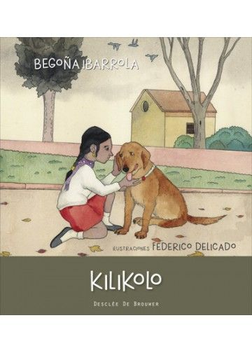 """""""Kilikolo"""" de Begoña Ibarrola. Kilikolo es un perro que se siente abandonado cuando la familia con la que vive debe viajar inesperadamente. El encuentro con Lina y Karim le ayuda a comprender que está equivocado y a la vez sirve para que los niños se den cuenta de lo que pueden sentir los animales abandonados. Al ver el sufrimiento de los perros que están en el refugio para animales del pueblo, deciden hacer algo para ayudarles. Un cuento sobre la EMPATÍA DE 7 A 9 AÑOS. Signatura: R DES soy"""