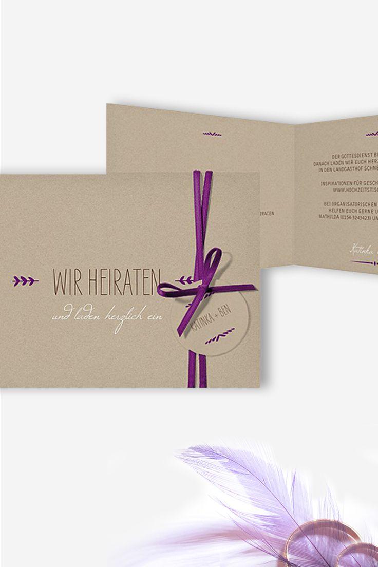 22 besten Hochzeitseinladungen