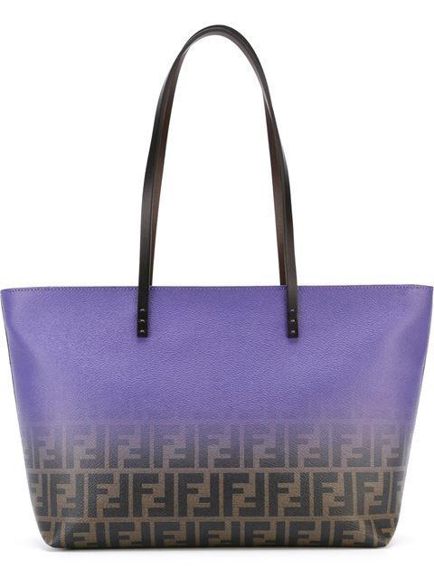 Fendi сумка-тоут 'Roll' с логотипом FF