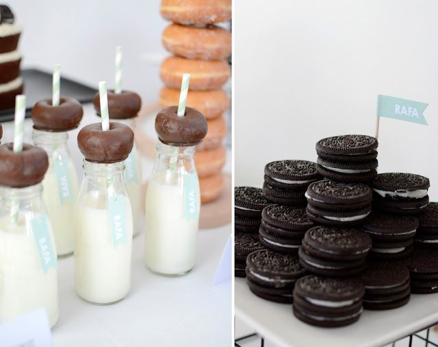Donetes Leche y Oreos!