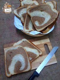 Joanne's Kitchen: 面包机の美禄奶香双色土司