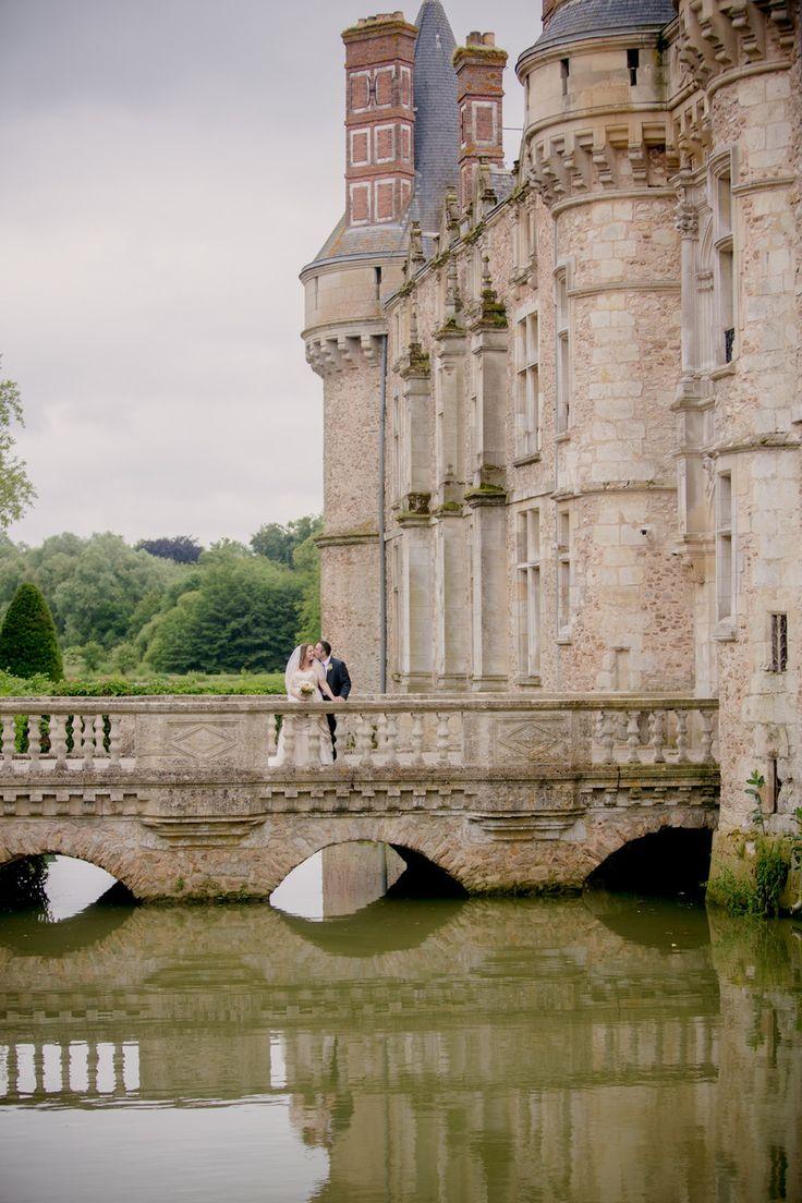 Imagine THIS as your wedding venue! Chateau d'Esclimont - Paris, France. See the wedding on Style Me Pretty: http://www.stylemepretty.com/destination-weddings/2013/12/30/paris-wedding-at-chateau-desclimont/ Kristin La Voie Photography