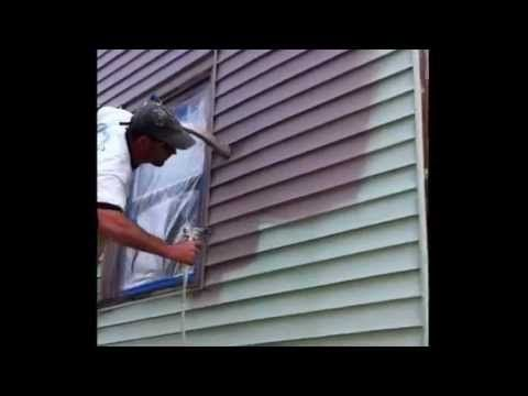 Painting Vinyl Siding Ugly Green House Diy Oliver S