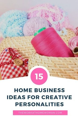 Do you have a creative personality? Are you having a hard time figuring out how to practically apply your passions to a career that will pay you a good wage? Here is a fantastic list of home business ideas for creative personalities.