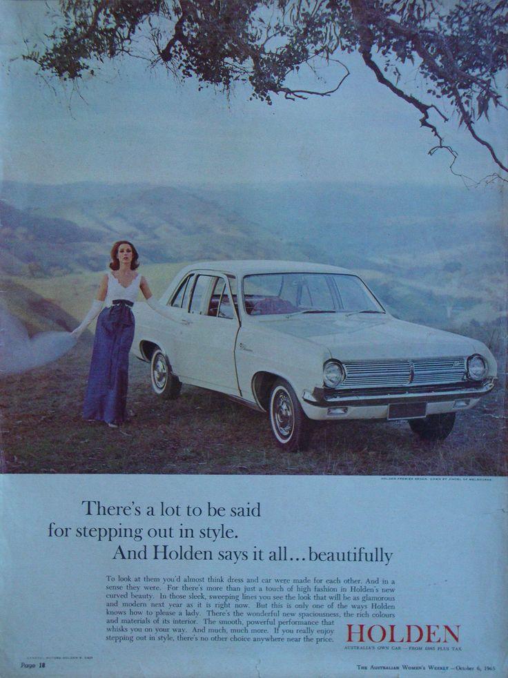 https://flic.kr/p/f7saud | 1965 HD Holden Premier Sedan Aussie Original Magazine Advertisement