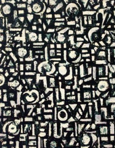 Untitled (1949), Lee Krasner  Art Experience NYC  www.artexperiencenyc.com