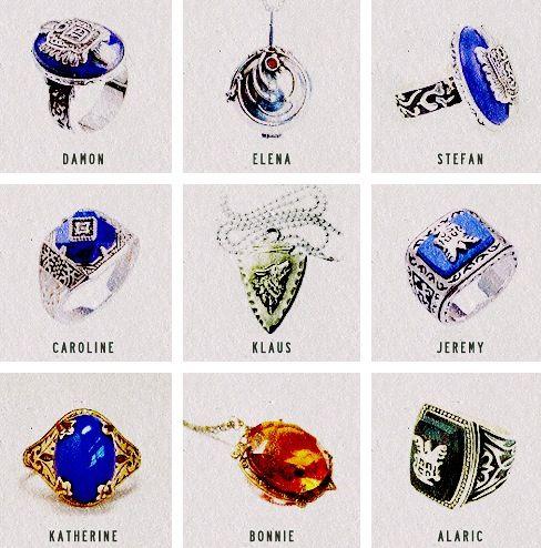 Vampire Diaries jewelry
