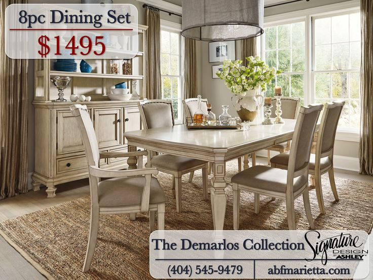 The Demarlos Dining Collection By Ashley Signature Design Furniture Vintage Abfmarietta